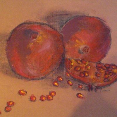 Pomegranates - Miranda Pender