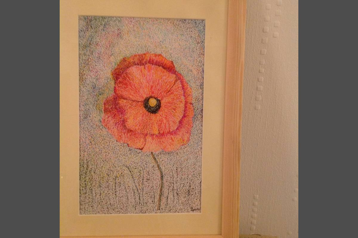 Poppy - Josephine Spence (Pointillism)