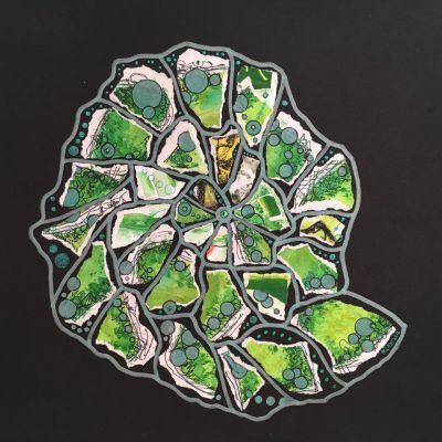 Ammonite Emerald - Miranda Pender