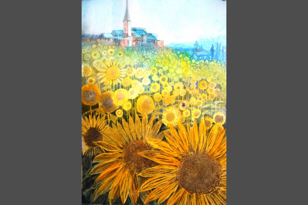 Fantasy Sunflowers - Nicky Clarke