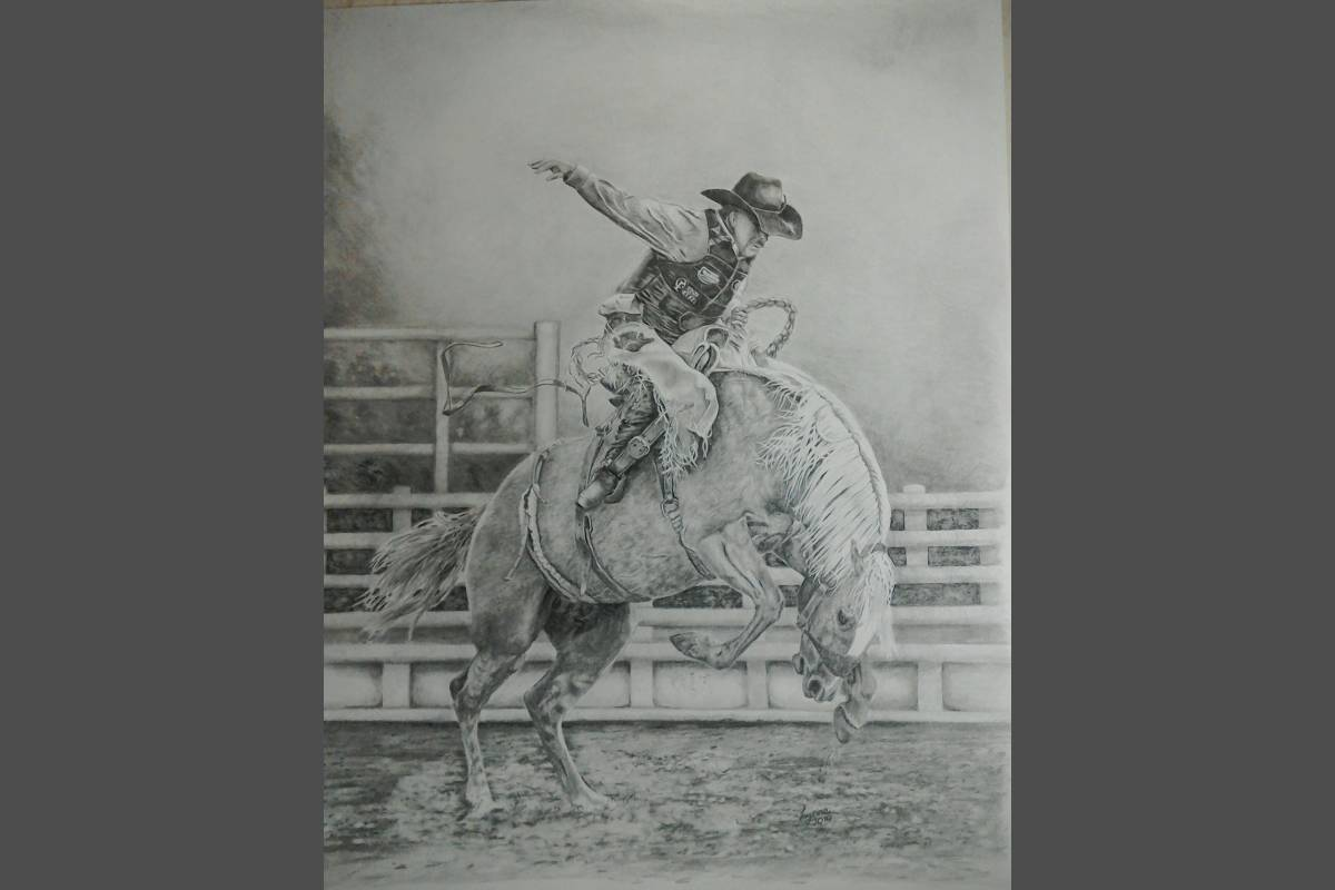 Riding The Storm - Lynne Harvey (pencil)