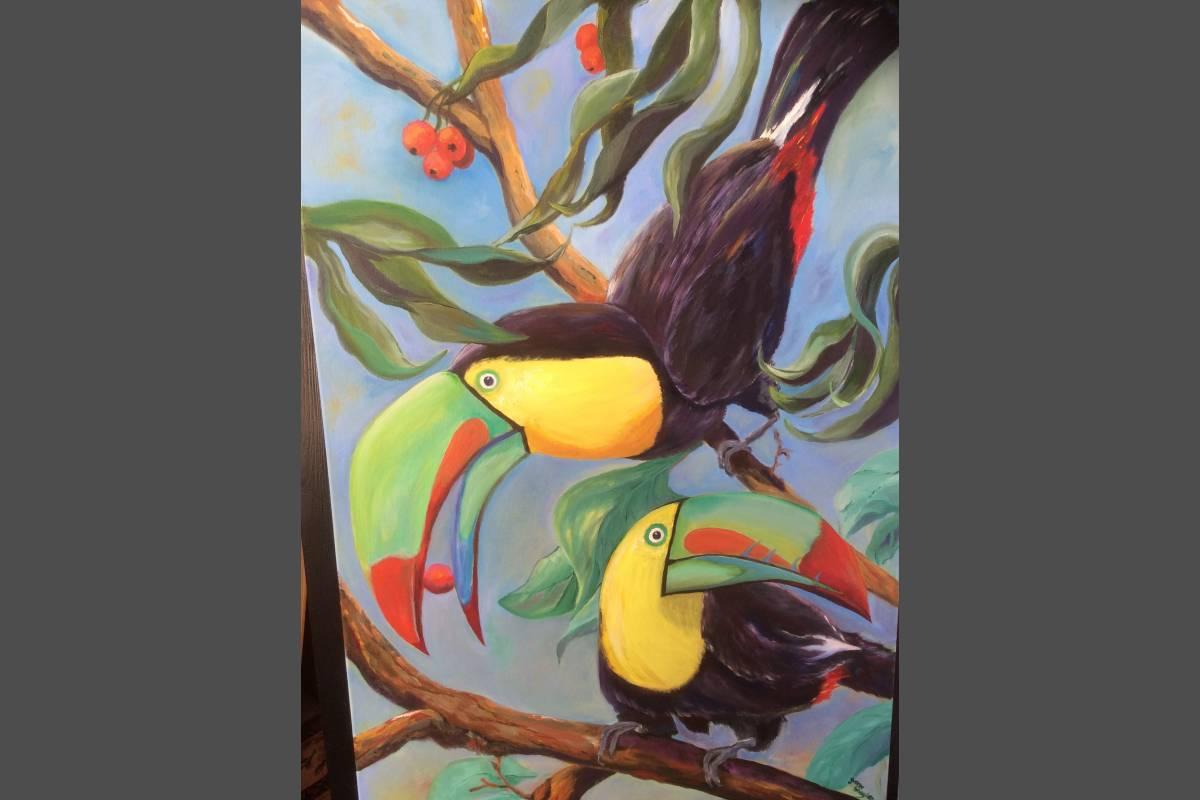 Toucans - Yvonne Shayler