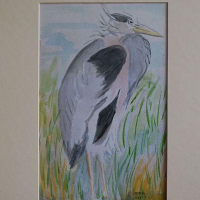 Heron - Susan Ball
