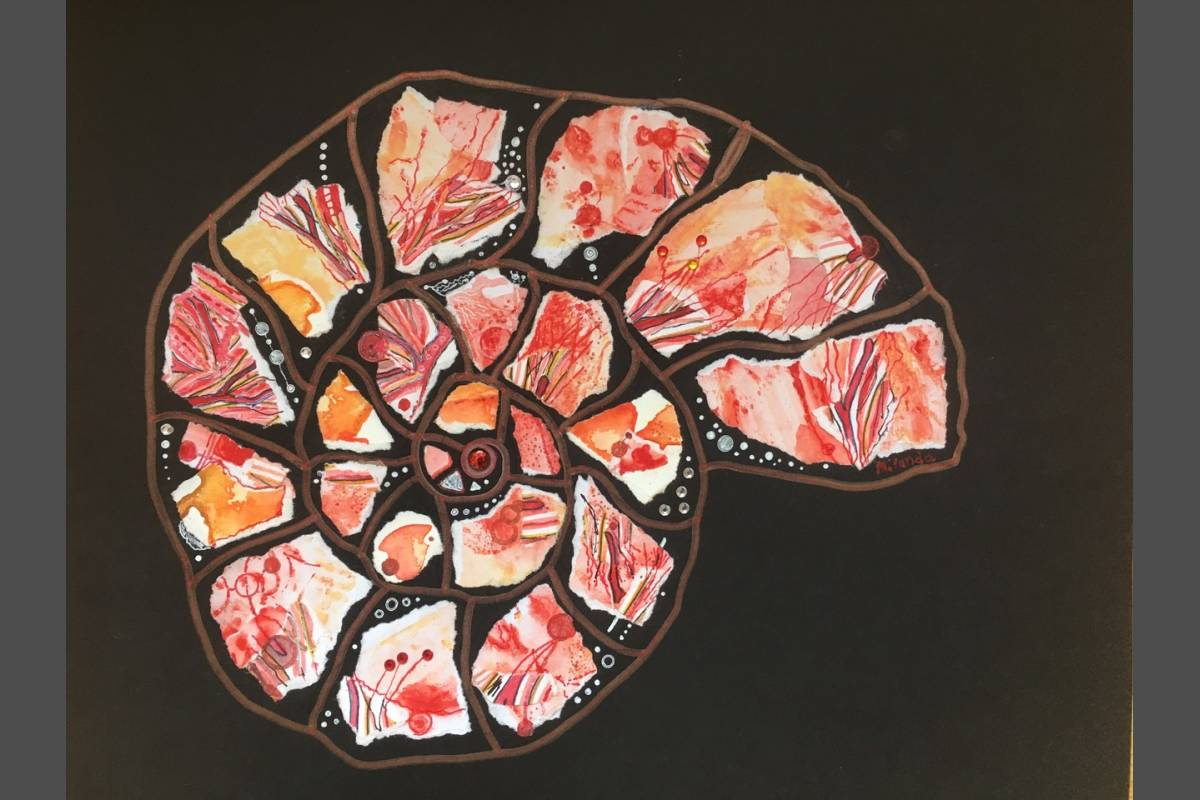 Coral Ammonite - Miranda Pender