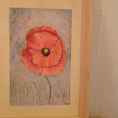 Poppy - Josephine Spence (Pointillism)