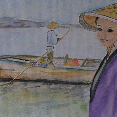 Chinese Girl - Susan Ball