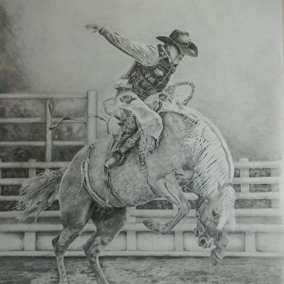 Riding The Storm - Lynne Harvey (pencil)