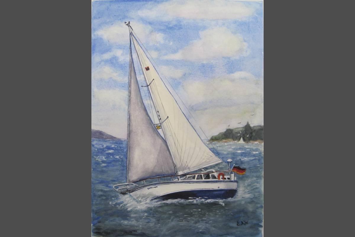 A Stiff Breeze - Elizabeth Webster