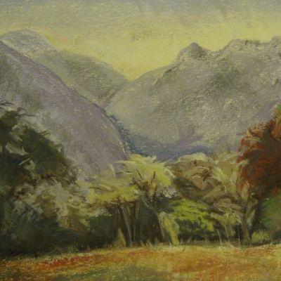 Mountain  Scene - Elizabeth Webster