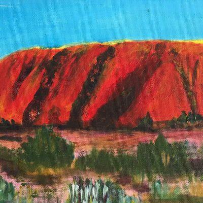 Uluru Australia - Anna Webb