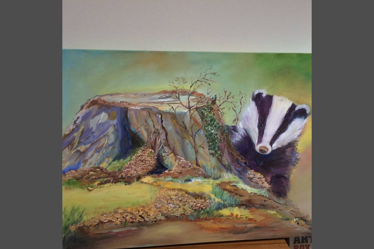 Badger - Yvonne Shayler