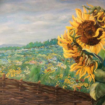 Sunflower and Wildflower Meadow - Yvonne Shayler