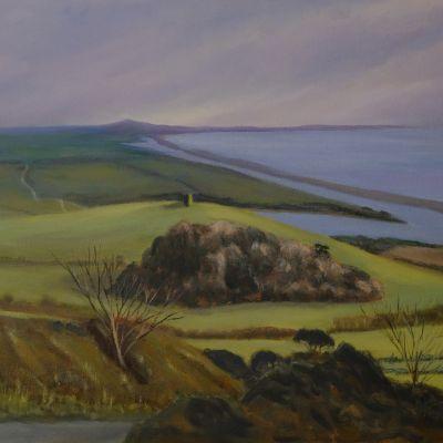 Road To Abbotsbury - Margaret Geatches