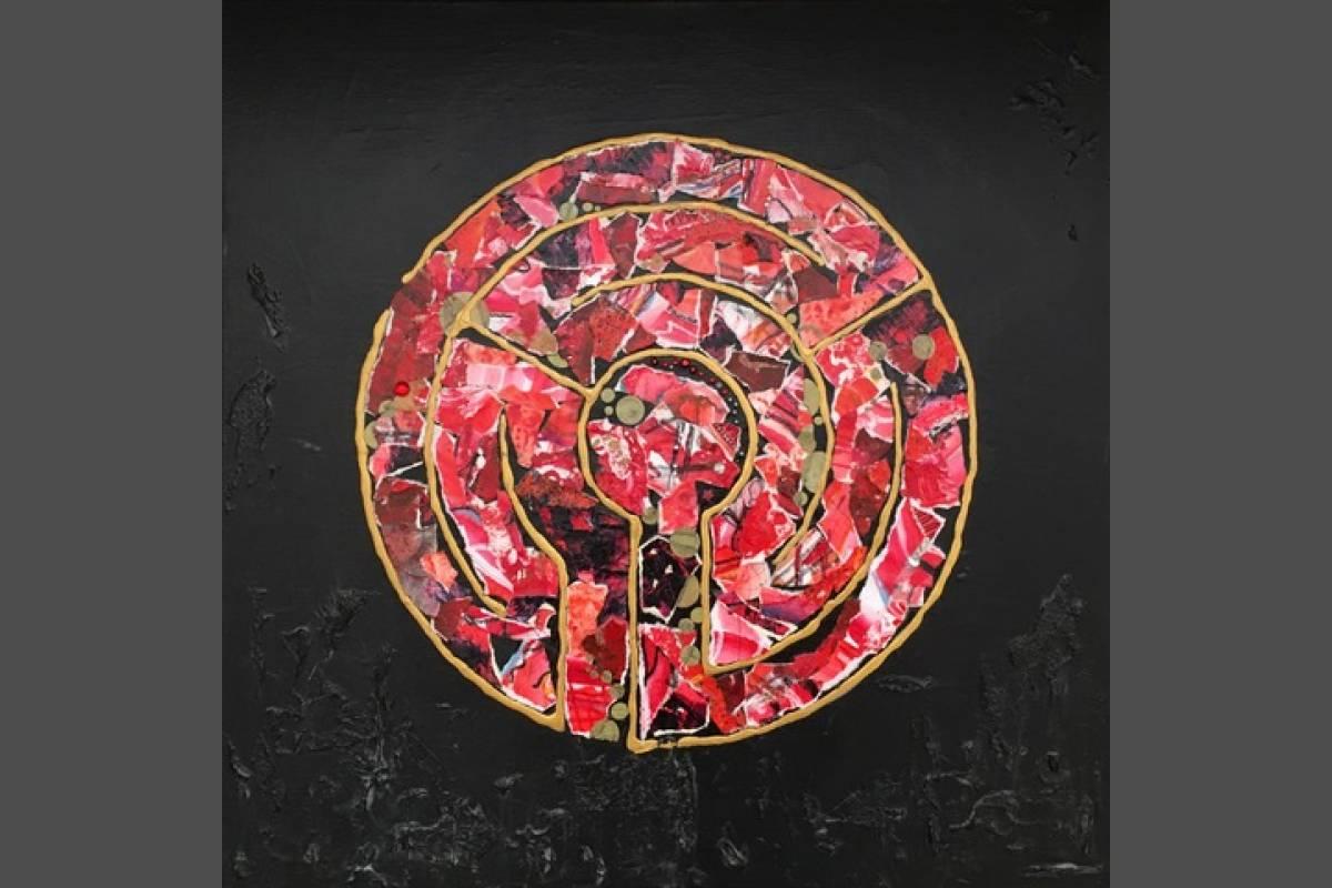 Labyrinth Ruby Red - Miranda Pender