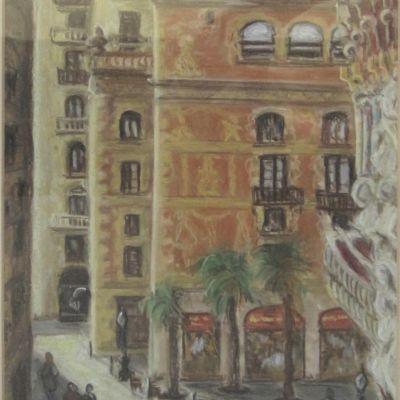 View from the Palau de Musica Barcelona - Elizabeth Webster