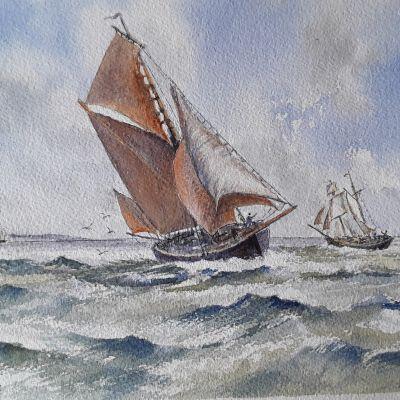 Coastal Traders - Don McKechnie