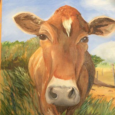 Brown Cow - Yvonne Shayler