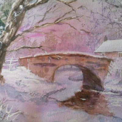 Dartmoor Winter - Edith Carter