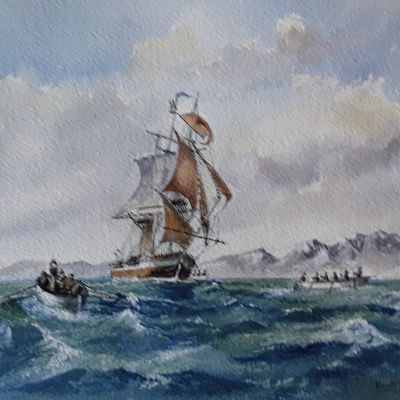 South Sea Whalers - Don McKechnie