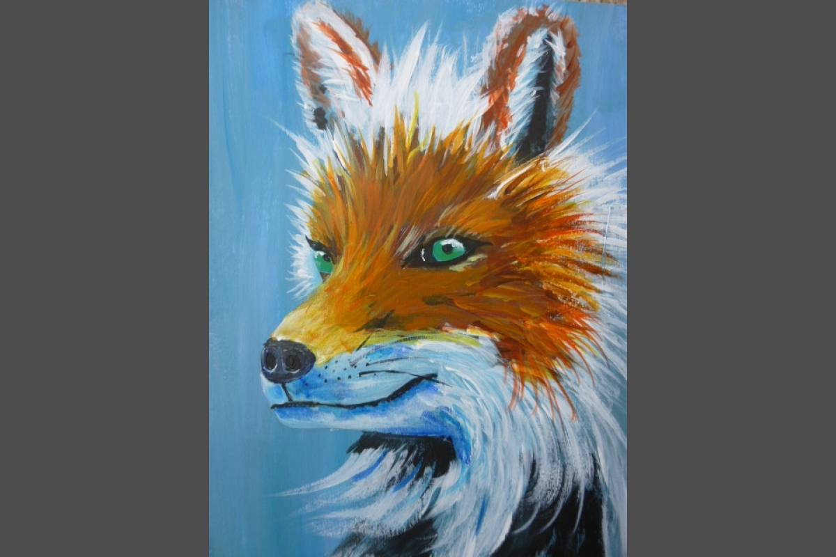 Green Eyed Fox - Christopher Gregory