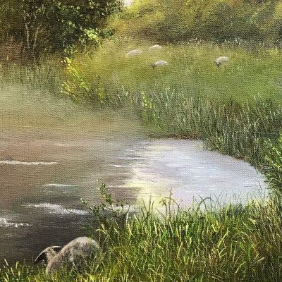 Misty Morning - Susan Coleridge-Mathews