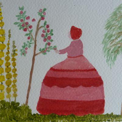 Maid in Garden - Christine Smith