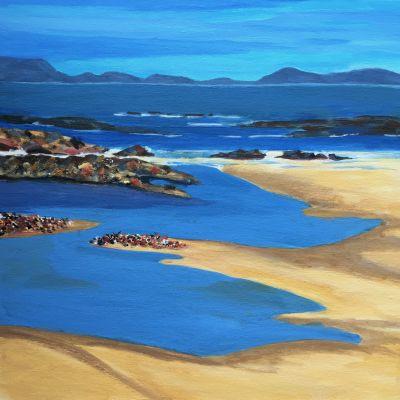 Towards the Mountains-Skye - Jill Preston
