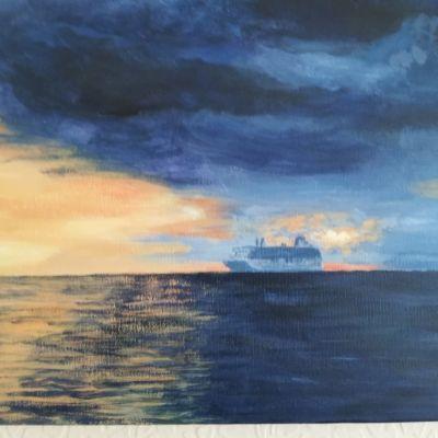 Sunset Cruising - Margaret Owers