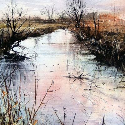 Autumn day by the river - Chris Gregory