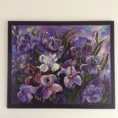 Irises - Yvonne Shayler